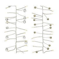 thumb-micro LED parelverlichting - silver wire - Warm Wit-1