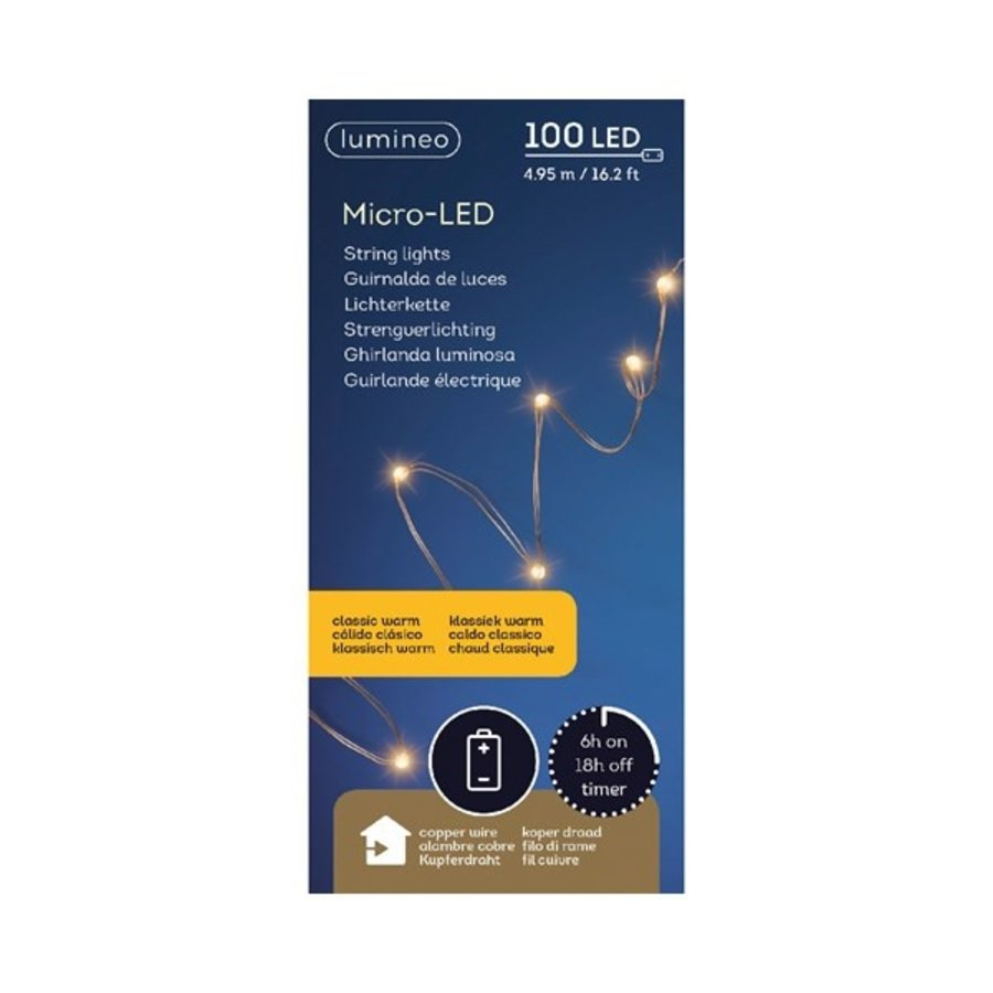 micro LED - koper - Klassiek Warm-1