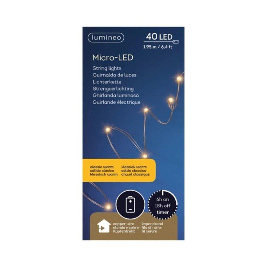 micro LED - koper - Klassiek Warm-3