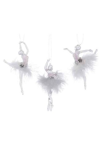 Decoris Balletdanser acryl met hanger