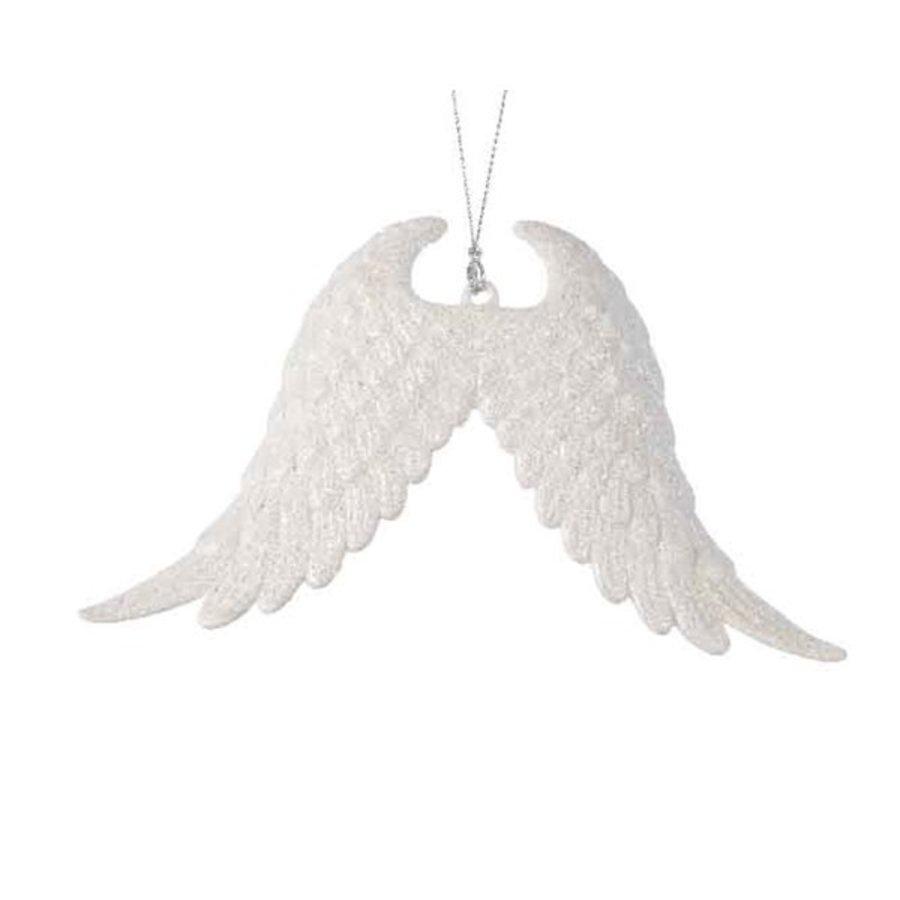 Vleugels plastic glitter met hanger-1