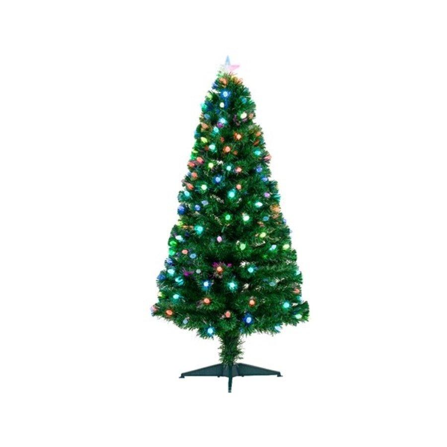 Kerstboom glasvezel 120cm  129 lights-1