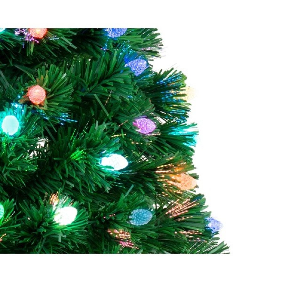 Kerstboom glasvezel 120cm  129 lights-2