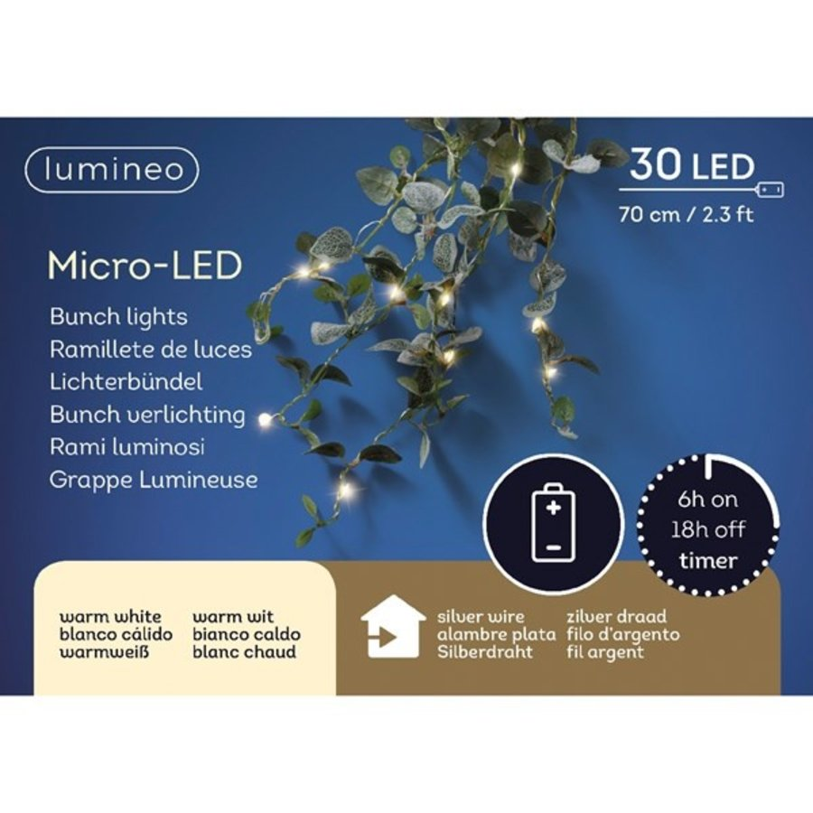 micro LED blad bunch - Warm Wit-2