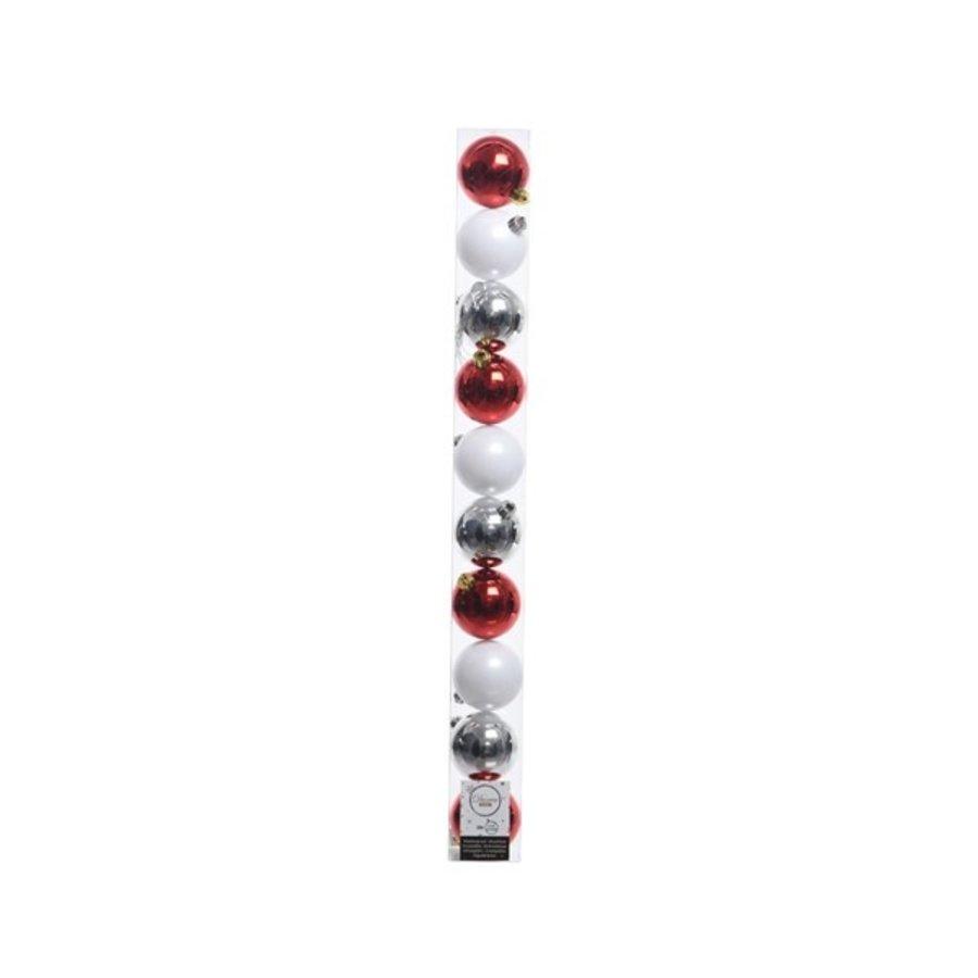 Set/10 onbreekbare kerstballen dia 6cm Wonderful Time-1