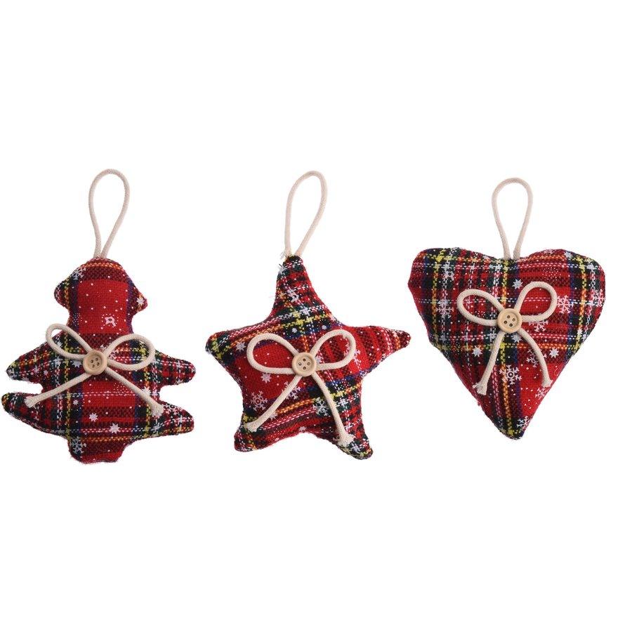 Kerstfiguur, Schotse ruit-2