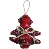 thumb-Kerstfiguur, Schotse ruit-1