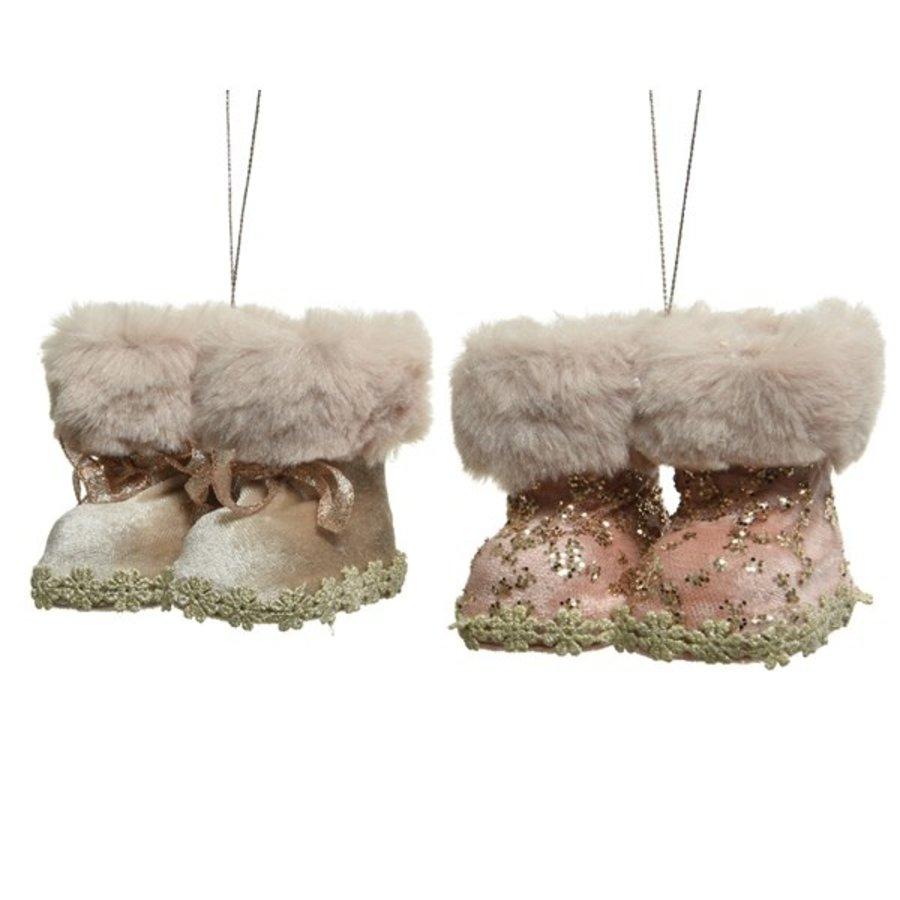 Sneeuwlaarzen met hanger, 8cm-1