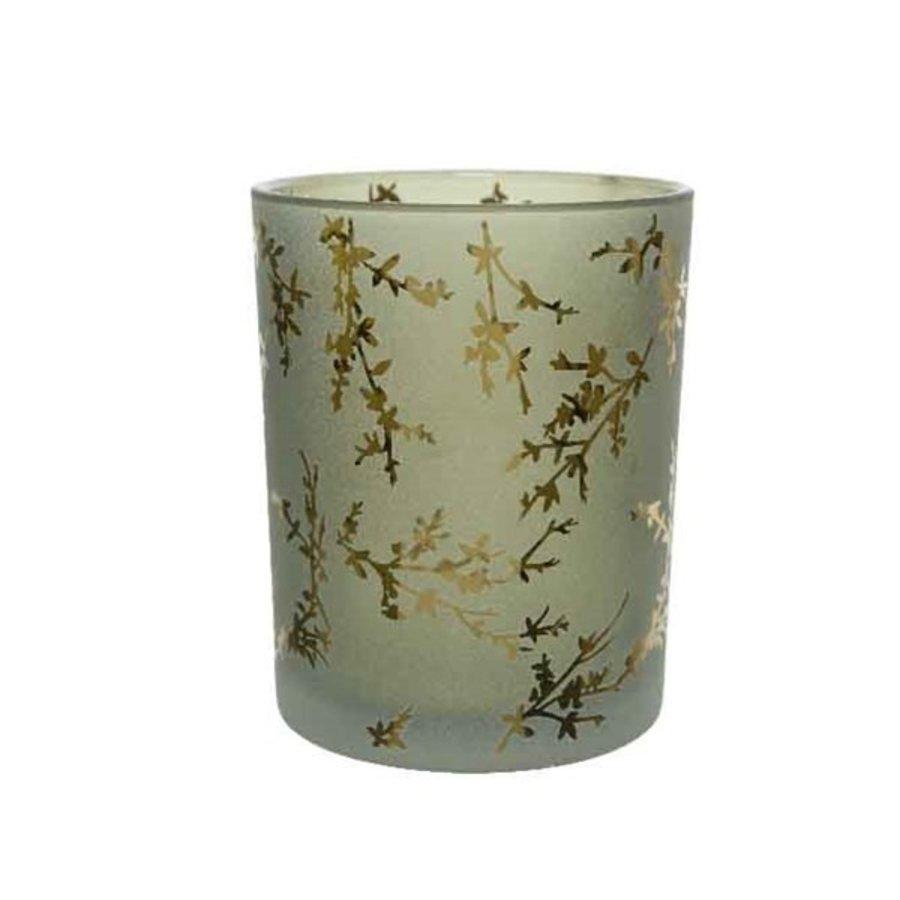 Theelicht glas, 18cm-1