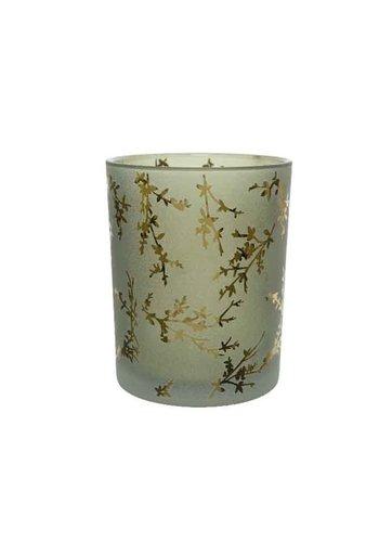 Decoris Theelicht glas, 12.5cm