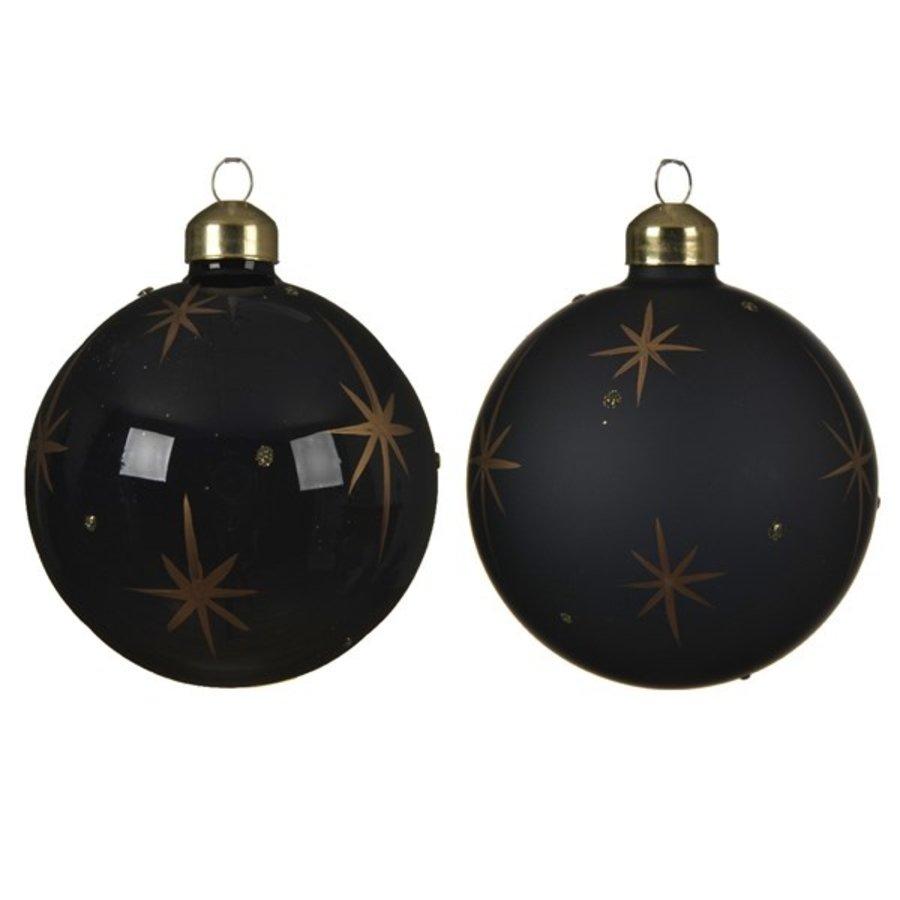 Kerstbal glas, dia 8cm-1