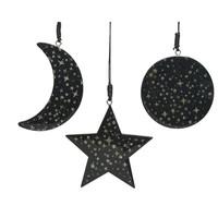 thumb-Kerstfiguur met hanger, zwart-1