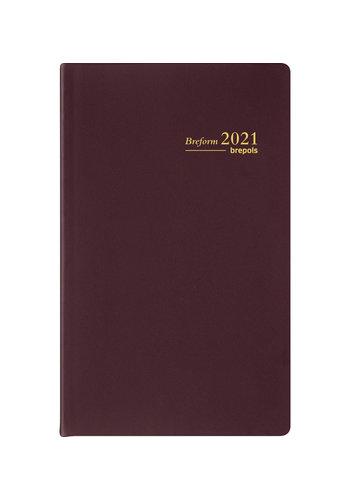 Brepols Brepols agenda 2021 breform pvc seta
