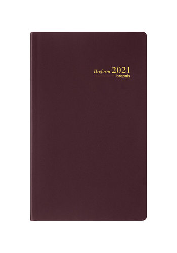 Brepols Brepols agenda 2022 breform pvc seta
