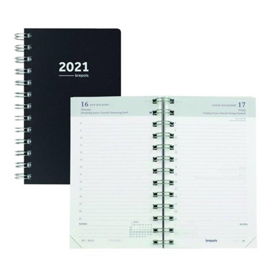Brepols agenda 2021 breform zwart-1
