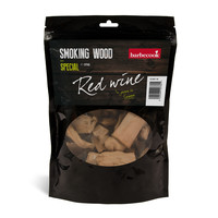 Rookhout rode wijn