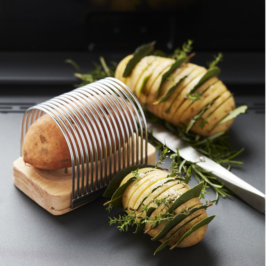 Snijset voor Hasselback potato-2