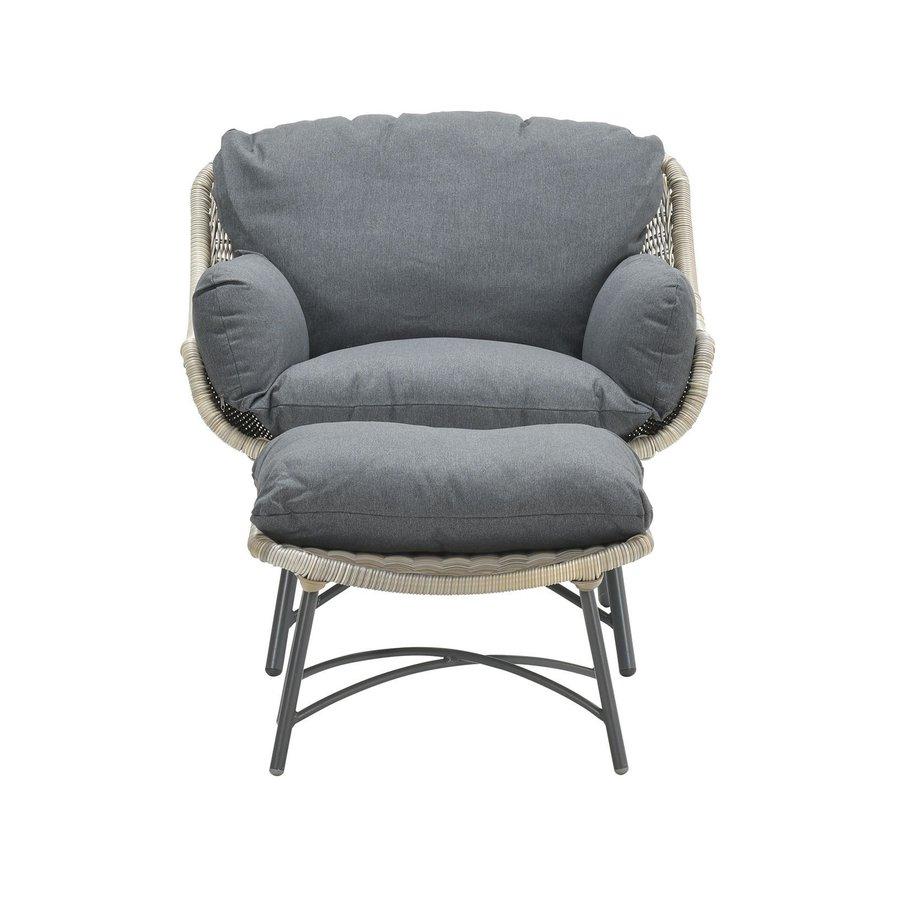 Logan fauteuil met voetenbank-2