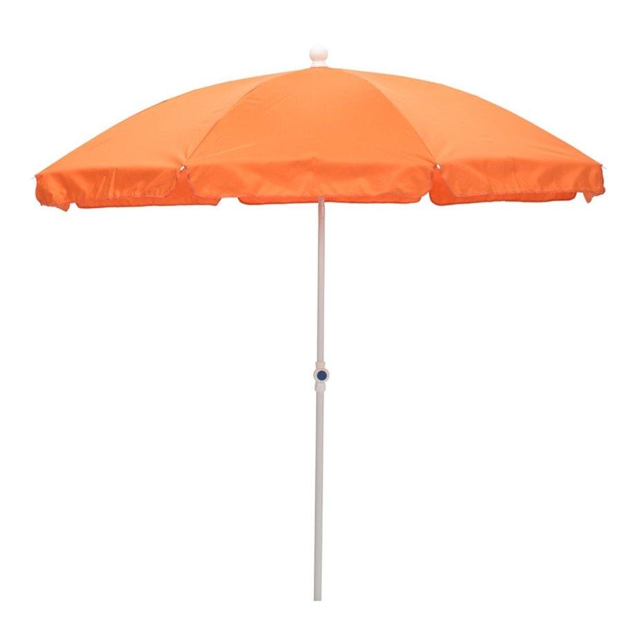 Strandparasol 200cm, oranje-1
