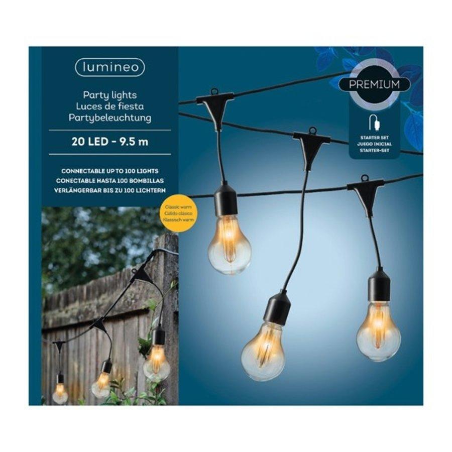 LED Partylights starter set buiten - Klassiek warm-2