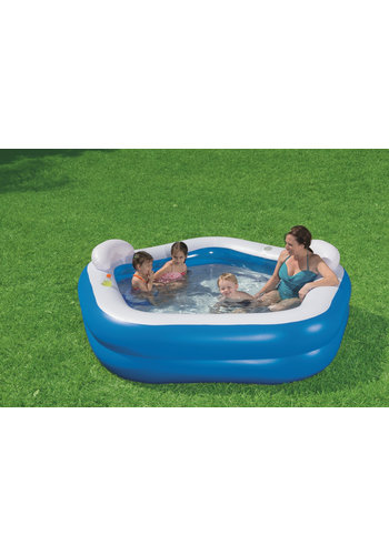 Bestway Familiezwembad, vijfhoekig