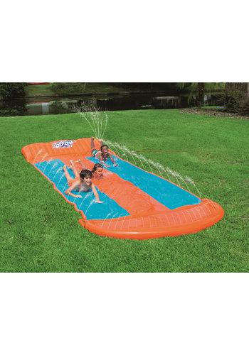 Bestway H2OGO! Waterglijbaan triple slide helling