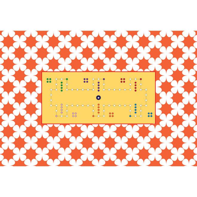 Spelkleed Dobbel, 220 x 150 cm, 6 personen, rechthoek