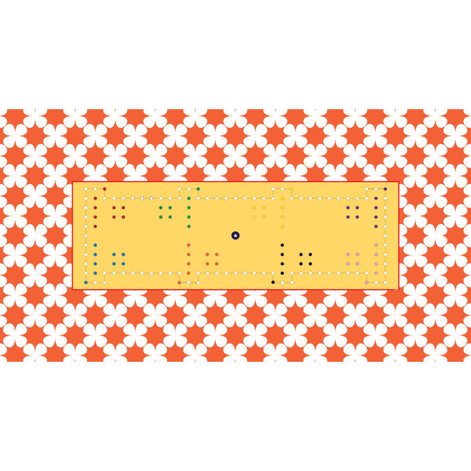 Spelkleed Dobbel, 300 x 160 cm, 8 personen, rechthoek