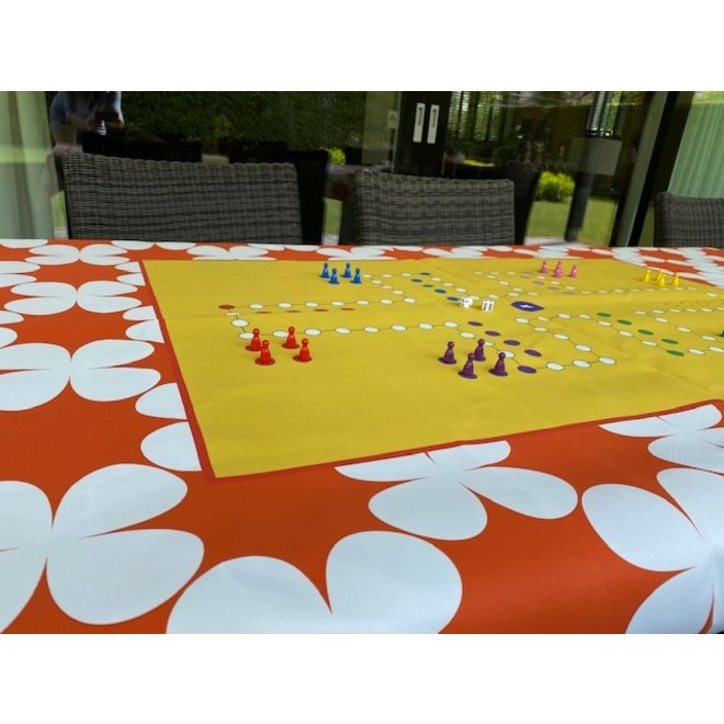 Game cloth Dice, 220 x 150 cm, 6 personen,  rectangle all around