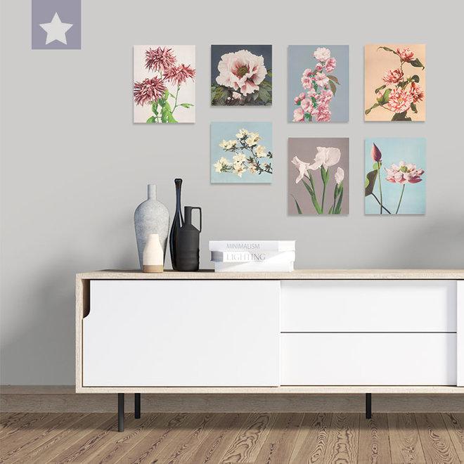 Witte Iris 25 x 31,5cm