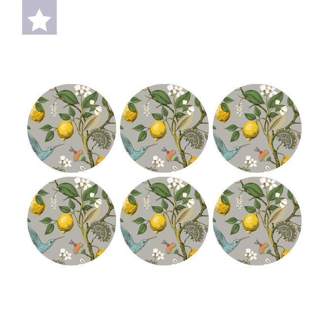 Coaster Lemon (per 6)