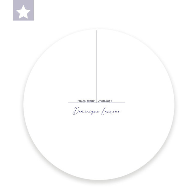 Wall circle Heggemus / Ø 30cm