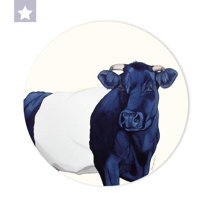 Muurcirkel Lakenvelder koe