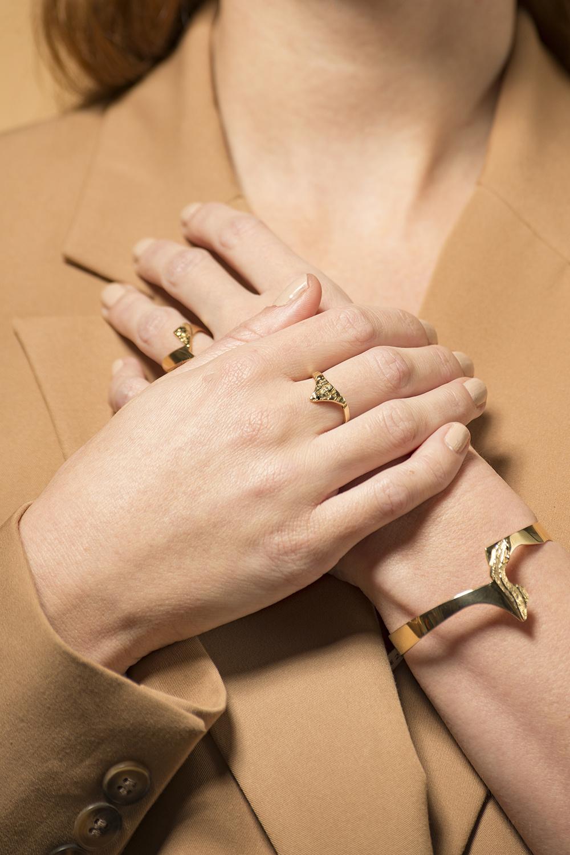 14 karaat geelgouden armband - Grillo-2