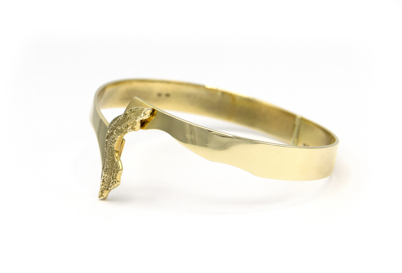14 karaat geelgouden armband - Grillo-3