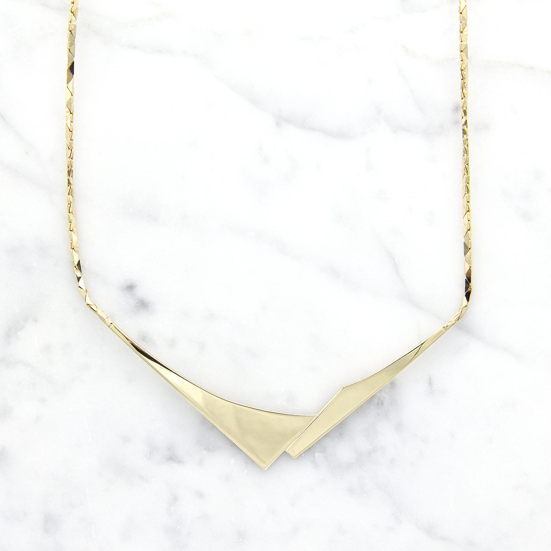 Geelgouden dames ketting - Archi-1