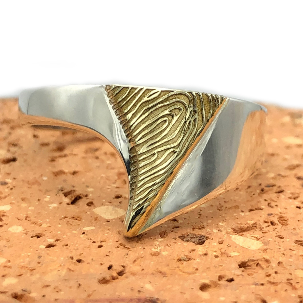 Fingerprint ring - Archi-1