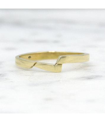14 karaat geelgouden ring - slag - Archi