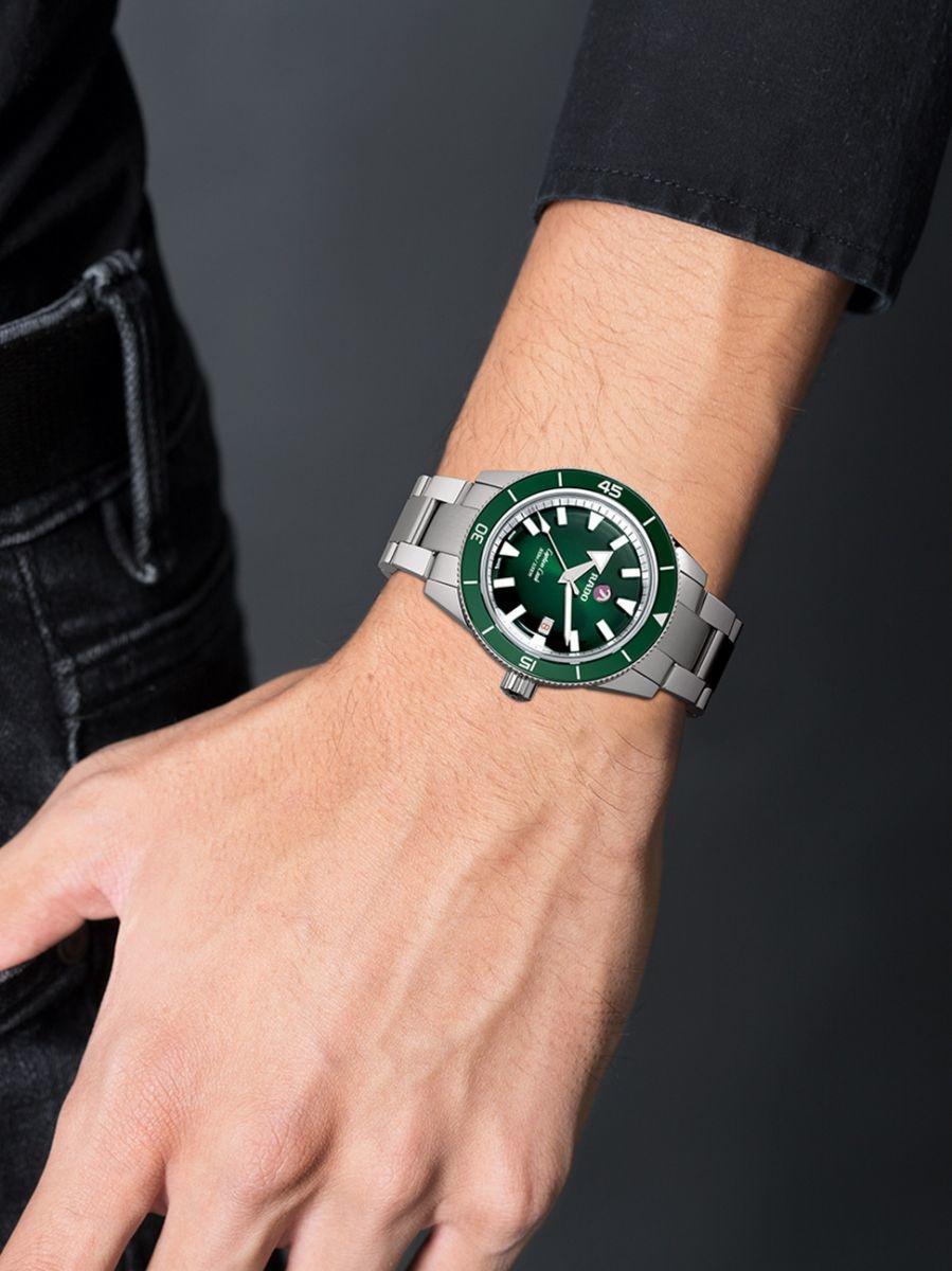 Rado - Horloge Heren - Captain Cook - R32105319-3
