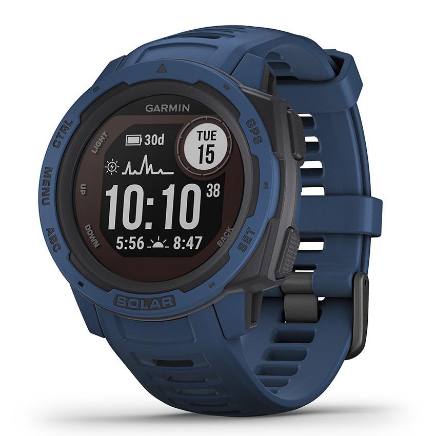 Garmin - Horloge Heren - Instinct Solar - Tidal Blue-1