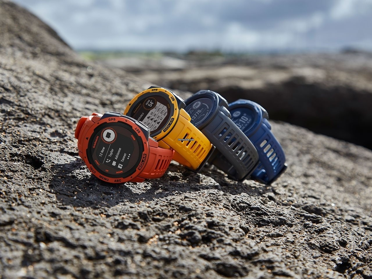 Garmin - Horloge Heren - Instinct Solar - Tidal Blue-2