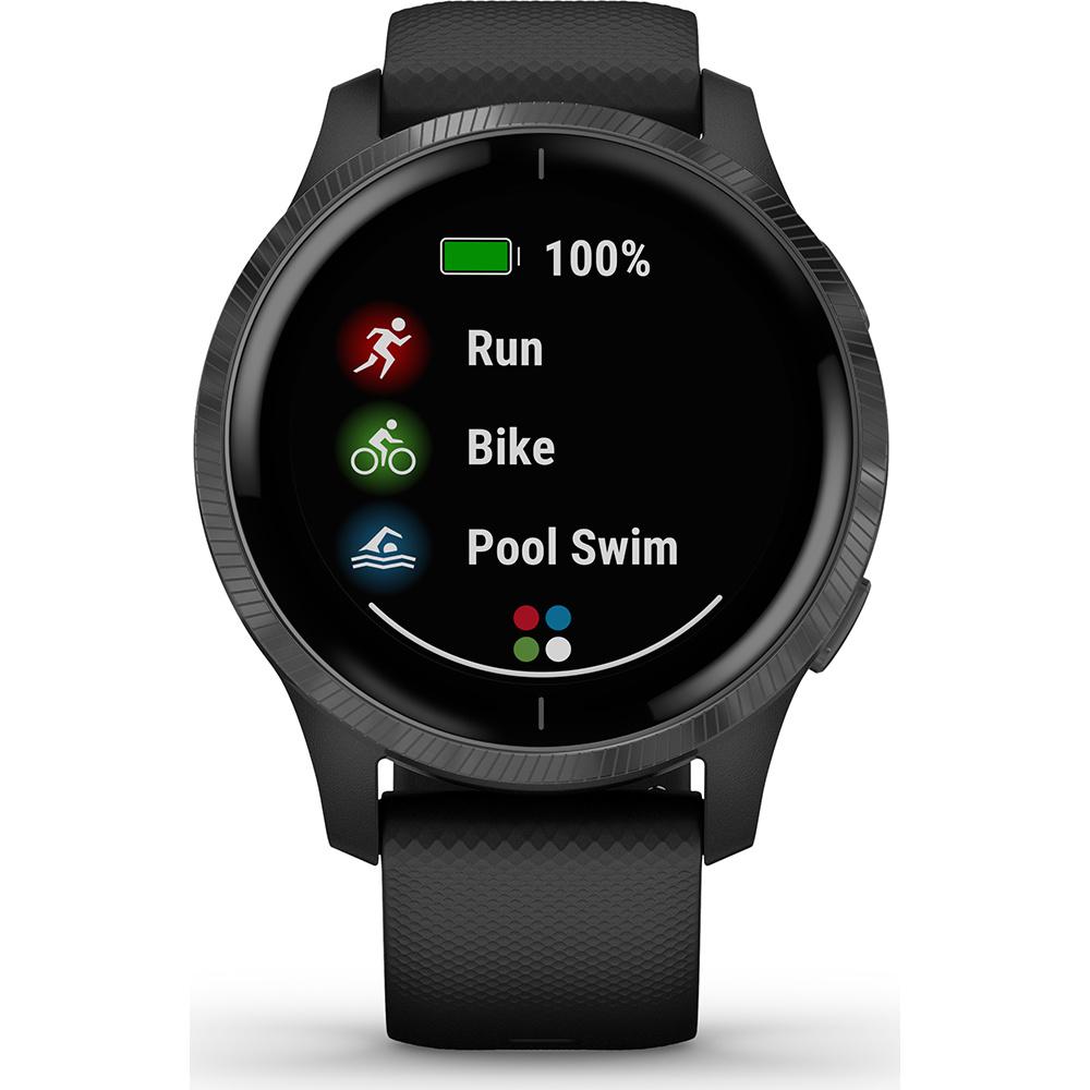 Garmin - Horloge Sport - Venu - Black met Slategrey-4