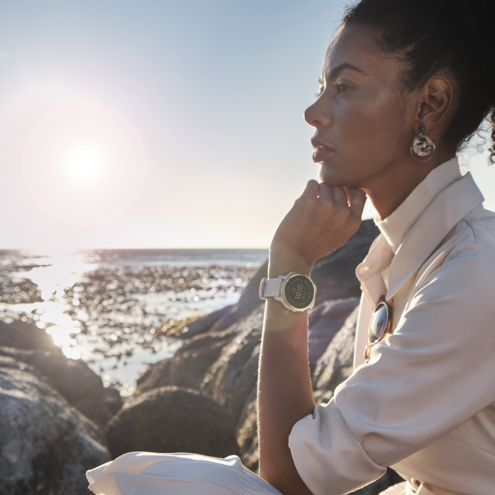 Garmin - Horloge Dames - Fenix 6S - Pro Solar Edition-5