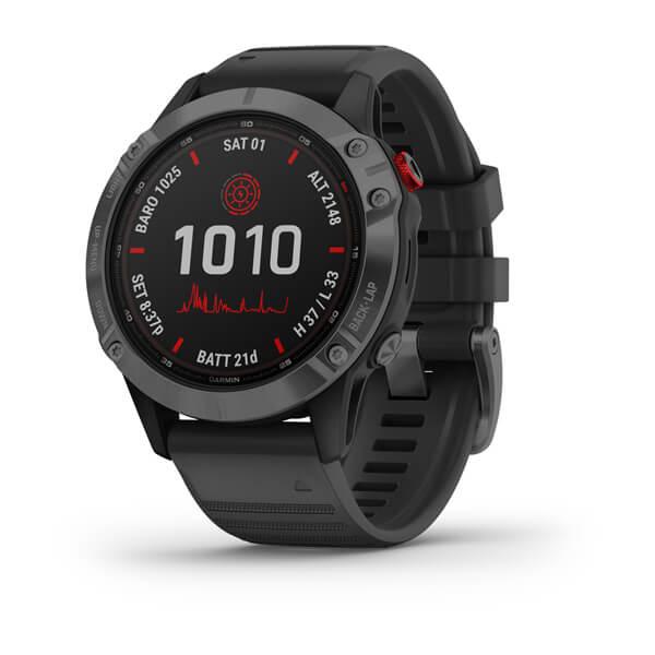 Garmin -  Horloge Heren - Fenix 6 - Pro Solar Edition-1