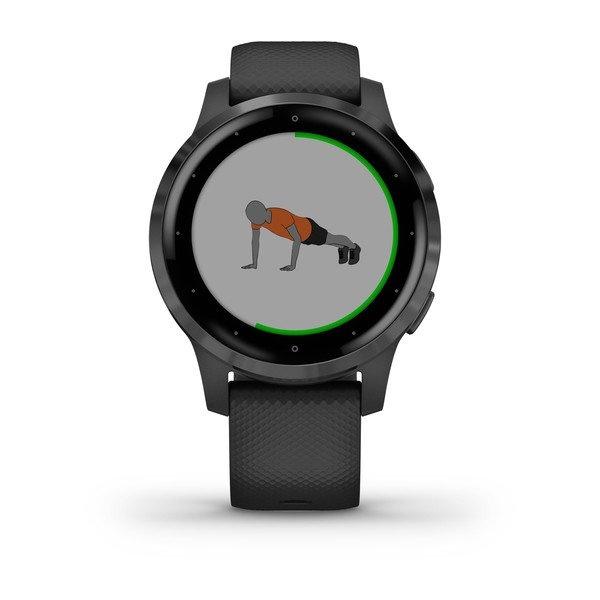 Garmin - Sport Horloge - Vivoactive 4S -  Zwart-4