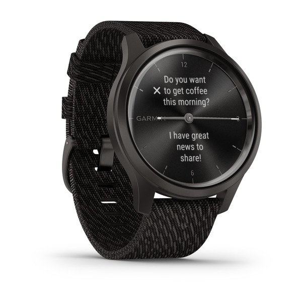 Garmin - Sport Horloge - Vivomove Style -  Zwart-4