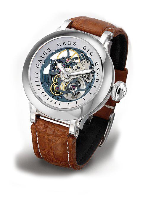 Steffen - Horloge Heren - Costructa II - Blue/Silver-1