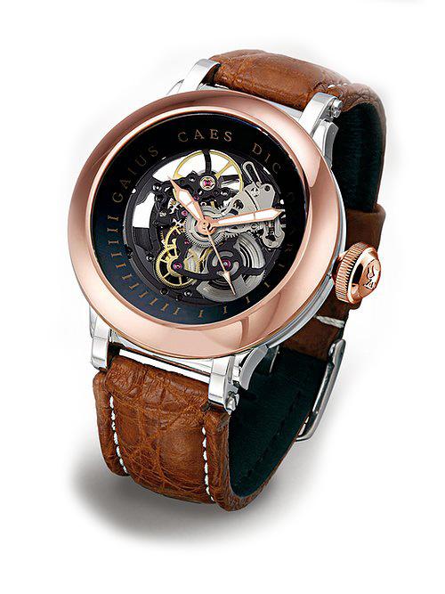 Steffen - Horloge Heren - Costructa II - Black/Rose-1