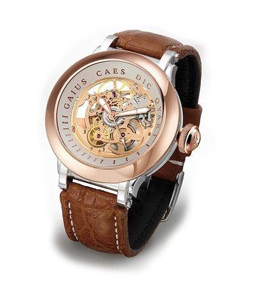 Steffen - Horloge Heren - Costructa II - Rose/Creme