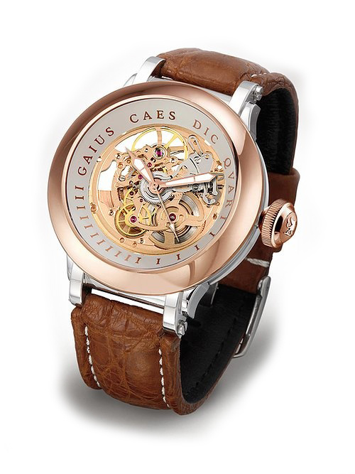 Steffen - Horloge Heren - Costructa II - Rose/Creme-1